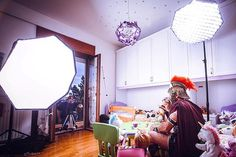BTS shot from one of today's sets! I had a lot of fun creating an ad including this Roman Centurion, a beautiful little girl and a tea party involving a unicorn! In this shot you can see two @godox_photo_equipment #ad600 with @neewer octabox and a @canonusa #1dxmkii . . . . . .  Don't just hit like, follow me for more photos and awesome BTS! . . .@riccardosurianophoto . . . More on www.riccardosurianophoto.com . . . . . #photographer #photography #photoshoot #iso1200 #famousbtsmag #ne...
