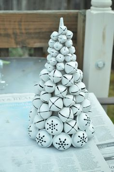 Make a jingle bell tree….