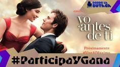 #ParticipaYGana un obsequio de #YoAntesDeTi y un par de entradas de @cinexve.  Comenta en esta imagen que es #ViveAlMaximo para ti y menciona a 3 amigos. Lee más al respecto en http://ift.tt/1hWgTZH Lo mejor del Cine lo disfrutas #DesdeLaButaca Siguenos en redes sociales como @DesdeLaButacaVe #movie #cine #pelicula #cinema #news #trailer #video #desdelabutaca #dlb