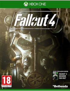 Fallout 4  Xbox One Cover Art