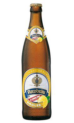 Arcobräu Craft Radler (0.5%) - 24 x 500ml bottles. A lemon style beer.