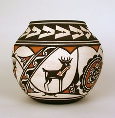 Old Indian Pottery | 752: Native American Indian Pueblo pottery ...