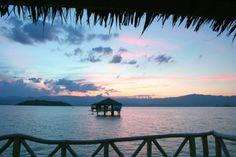 Bais-Manjuyod sandbar, Negros Oriental, the Philippines Places To Travel, Places To Go, Beach Cabana, Sunset Beach, Summer Sunset, Pink Summer, Exotic Beaches, Tropical Beaches, Travel