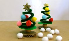 Pipe Cleaner Christmas Tree | Christmas Crafts | Kids Activities