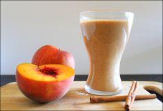 Spiced Peaches & Cream Quinoa Smoothies ($1.75/serving)