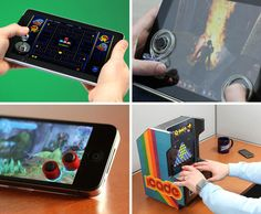Tactile game controllers for Ipad, ipod and iphone