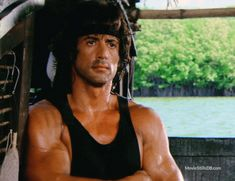 Rambo: First Blood Part II - Publicity still of Sylvester Stallone. The image measures 4427 * 3408 pixels and was added on 30 August Rambo 2, John Rambo, Hollywood Actor, Hollywood Actresses, Rocky Pictures, Sylvester Stallone Rambo, Stallone Movies, Act Of Valor, Silvester Stallone