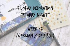 Filofax Decoration Week 47 (deutsch)