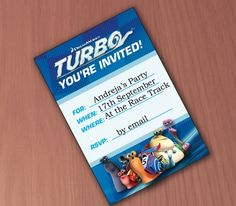 Turbo Birthday Party Ideas & Supplies - Party With the Fastest Snail in Town