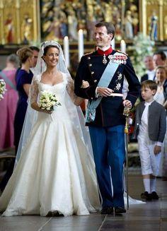 Prince Joachim of Denmark & Marie Cavallier | Royalty | Danish Royal Wedding