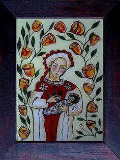 Imagini pentru icoane pe sticla Icons, Paintings, Art, Paint, Painting Art, Kunst, Draw, Painting, Ikon