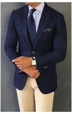 Business Casual Attire For Men, Business Casual Dress Code, Smart Casual Men, Blazer Outfits Men, Mens Fashion Blazer, Suit Fashion, Der Gentleman, Gentleman Style, Terno Slim Fit