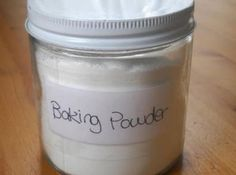 Homemade Baking Powder (Corn-free/Grain-free) Recipe