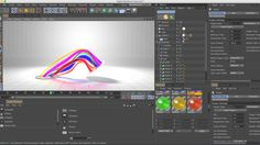 In this tutorial I will show you how to set up a rig to animate Loft Nurbs and create my Electric Rainbow. This is a very flexible setup with animation driven primarily…