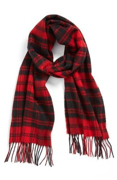David & Young 'Softer Than Cashmere' Plaid Scarf | Nordstrom- perfect fall scarf