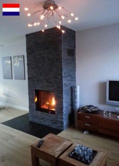 1000+ images about Open haard ideeën on Pinterest  Met, Fireplaces ...