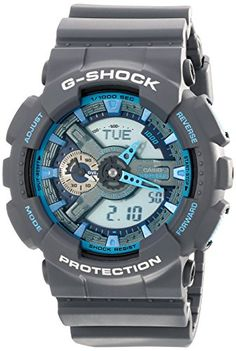 Men's Wrist Watches - Mens GShock AnalogDigital Watch Grey GA110TS8A2 >>> Continue to the product at the image link. (This is an Amazon affiliate link)