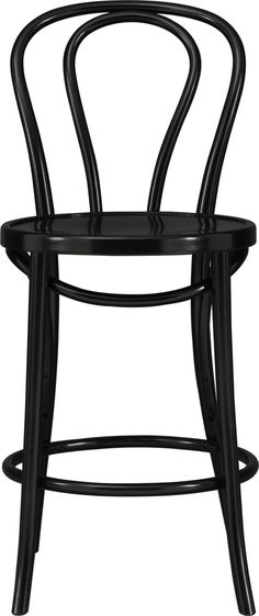 "Vienna Black 24"" Counter Stool.  Now I think I need these for the kitchen instead of the chairs"
