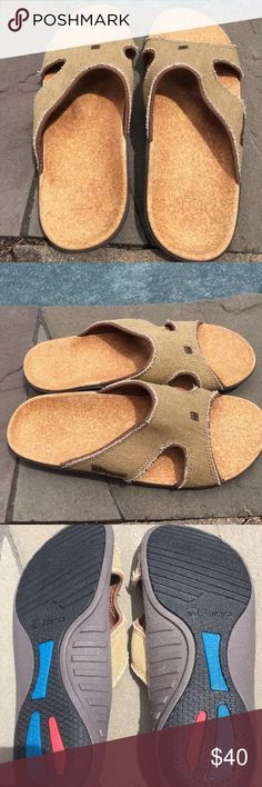 36b9213de2a466 Shop Men s Spenco Cream Tan size 9 Sandals   Flip-Flops at a discounted  price at Poshmark. Description  MEN s size 9 NWOT NO BOX READY TO SHIP  Non-smoking ...