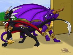 The Legend of Spyro • Spyro and Cynder <3