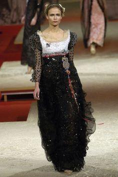 Christian Lacroix Spring 2006 Couture Fashion Show - Natasha Poly (Women)
