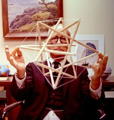The works of Buckminster Fuller, a distinguished architecture professor from SIU, is being honored today at Morris Library. The exhibit, which showcases 13 patented designs and structures, will be open throughout the month of April.