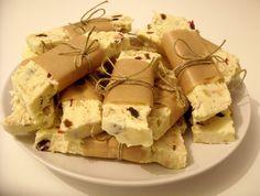 biały blok czekoladowy <3