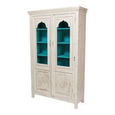 Белый шкаф в восточном стиле Mimiyaana, 203 см