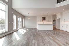 West Point Grove in Calgary, Alberta. Built by Truman. Dream Home Design, Home Interior Design, My Dream Home, House Design, Style At Home, Deco Design, House Goals, Floor Design, Image House