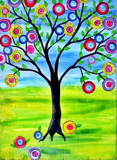 Downloadable art  Print of Tree of Life 1 Original by icColors, $5.00