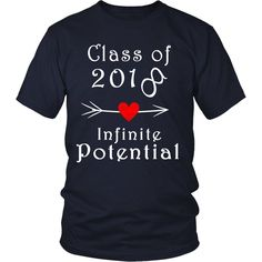 As we know every senior is search for unique class of 2018 shirt designs.So we have create a lot of unique senior shirts 2018 designs and you can choose among them. Our most popular unisex shirt 100% combed and ring-spun cotton 4.3-ounce and 30 singles Rib-Knit Crew Neck Double needle sleeves and hem