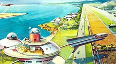 retro future ads from the 1950s   ... retro futurism is the depiction of what the future was going to be