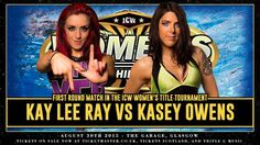 Women's Championship Tournament Match Confirmed For Insane Championship Wrestling 'Spacebaws Episode II: Come As You Are' http://wp.me/p38cKk-4vB