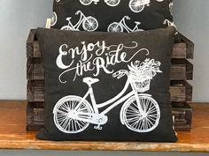 Chalk Pillow - Enjoy The Ride