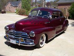 1947 Chevrolet Fleetmaster Coupe.