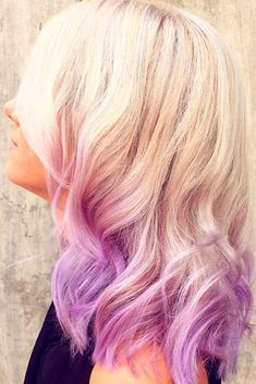 Light Purple Hair Color Will Make You Want to Dye Your Hair ★ See more: http://lovehairstyles.com/light-purple-hair-color-ideas/