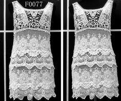 Diseños de lujo chalecos tejidos a crochet y propietarios, señoras ...