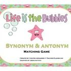 Enjoy this fun Synonyms and Antonyms learning center game for your students. Your students will love getting to practice their learning with this f...