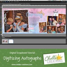Chelle's Creations: Digitizing Autographs