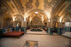 Bath house in the Nessarah royal palace