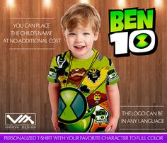 Ben 10 Birthday Shirt Custom Personalized T Family Shirts For Girls And Boys