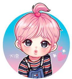 Pin by Crystal on Fan Arts | Fan art, Chibi, Kpop