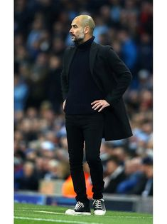 Pep Guardiola Just Proved Why He's the Most Stylish Coach in the World | GQ