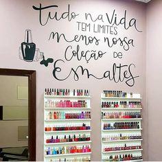Nail Salon Design, Salon Interior Design, Lettering Tutorial, Hand Lettering, Nail Spot, Instagram Blog, Instagram Posts, Nail Designer, Nail Studio