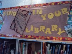 Library Week - Find Hidden Treasures in your Library.