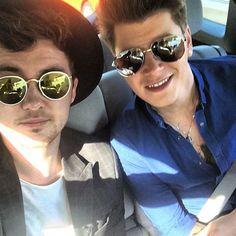 Jake and Charley rockin' the shades.