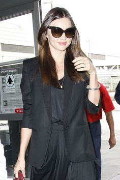 More Pics of Miranda Kerr Long Straight Cut