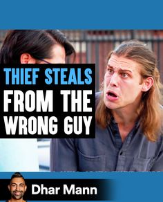 Thief STEALS From The WRONG GUY, What Happens Is Shocking | Dhar Mann. Your actions always have a way of coming back to you. For more motivational videos, visit DharMann.com #DharMann Life Tips, Life Hacks, Motivational Videos, Comebacks, Shit Happens, Guys, Lifehacks, Life Lesson Quotes, Sons