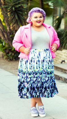 "Ashley Nell Tipton for JCPenney She's partnered with JCPenney as a brand ambassador for Boutique+, a new line designed specifically for plus-size customers. It will be available in 500 stores in sizes 0x to 4x, and on jcp.com in sizes up to 5x starting in May, with prices from $12.99 - $60. JCPenney is also debuting an in-store shop called ""The Boutique"" that will include a variety of brand names, including Tipton's line coming this fall."