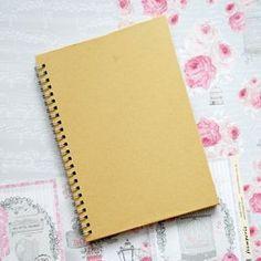 Ozdobte si deník v romantickém duchu | Davona výtvarné návody Notebook, The Notebook, Exercise Book, Notebooks